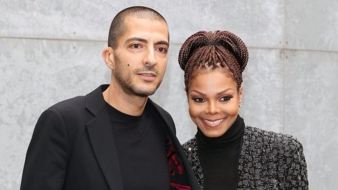 Janet Jackson and her husband, Al Mana